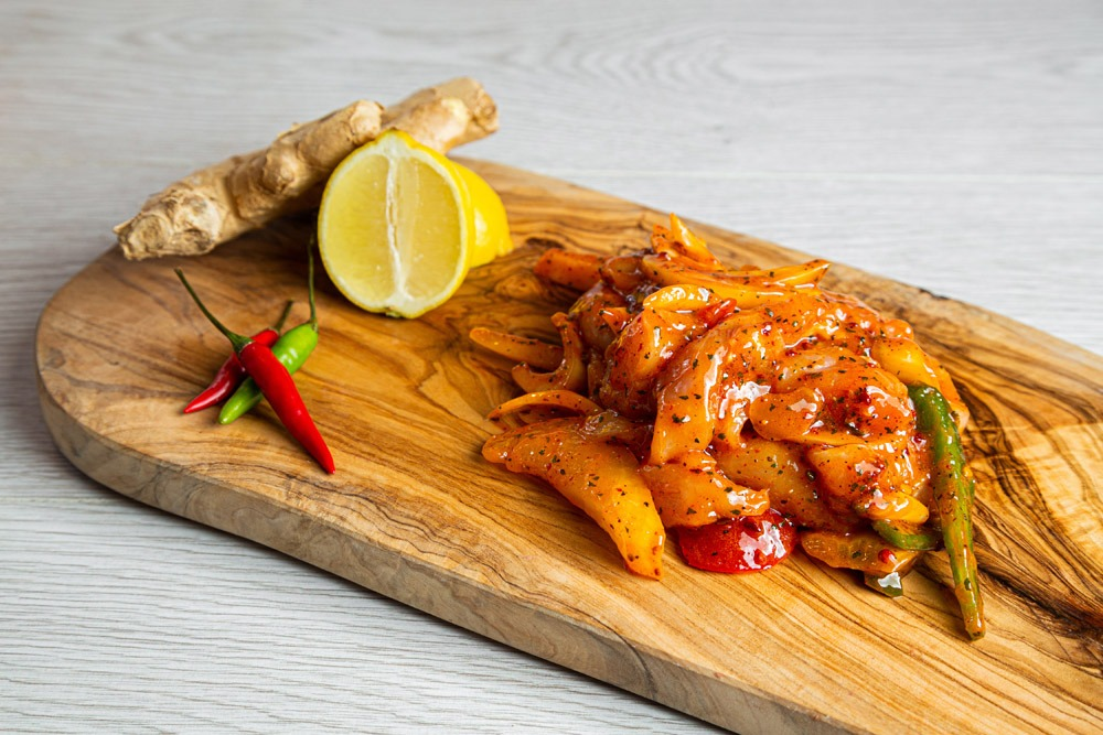 """Featured image for """"Ginger, lemon and chilli Chicken Stir Fry"""""""