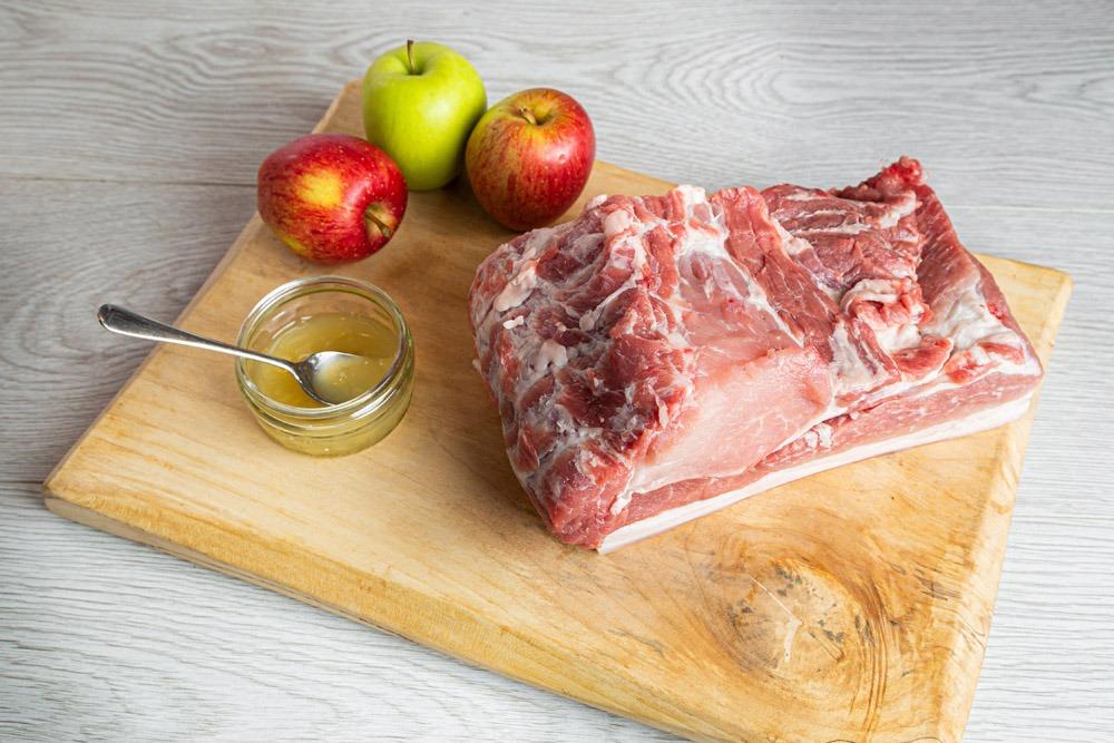 """Featured image for """"Pork Shoulder (Flat, skin on & bone out)"""""""