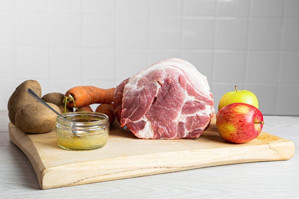 """Featured image for """"Pork Shoulder (Rolled, skin off & bone out)"""""""